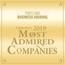 Portland business journal - 2019 most admired companies