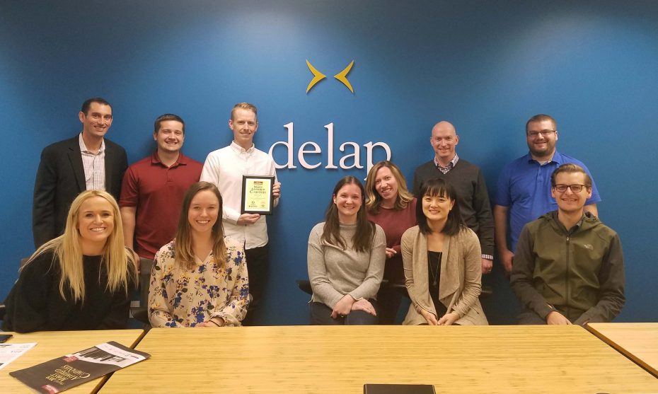 delap most admired company