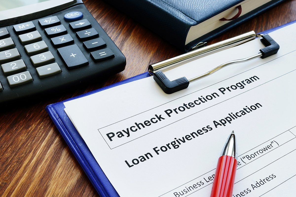 Paycheck protection program ppp loan for small business forgiveness application