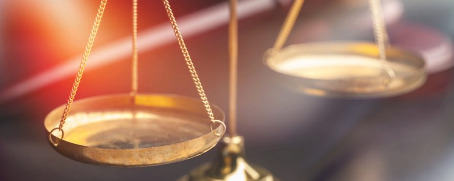 Justice Scales ethics