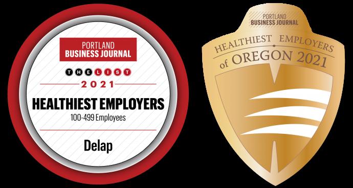Delap healthiest employers