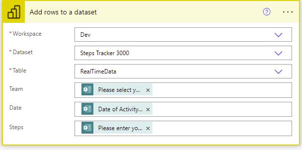 powerbi dataset
